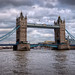 The River Thames and Tower Bridge (Panoramic). London by Abariltur