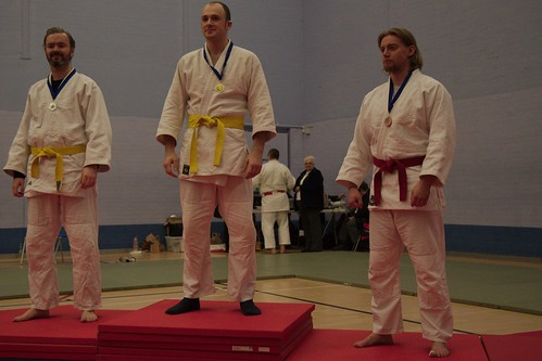 Silver in u90 kyu grade for James