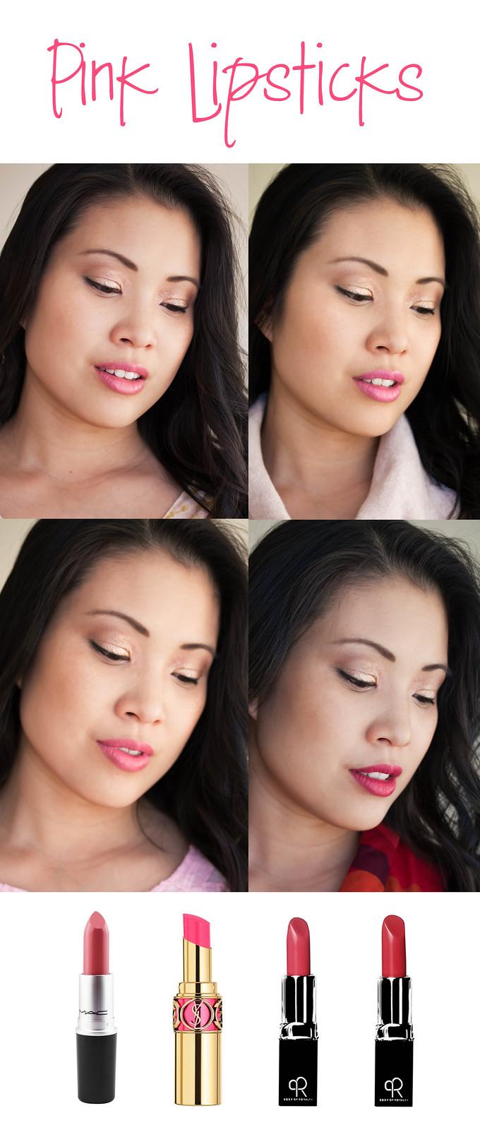 https://cuteandlittle.com | petite fashion beauty blog | pink lipsticks asian skin review