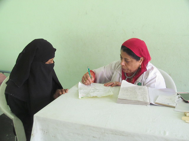 IMRC health camp