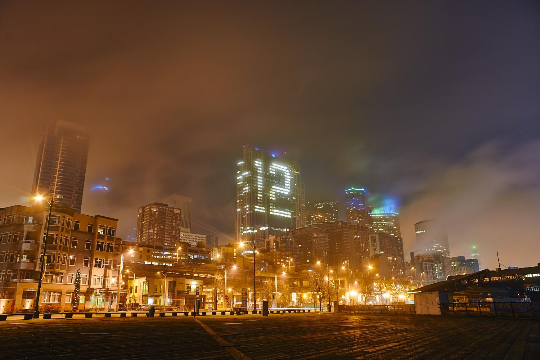 濕, 冷, 的大霧晚