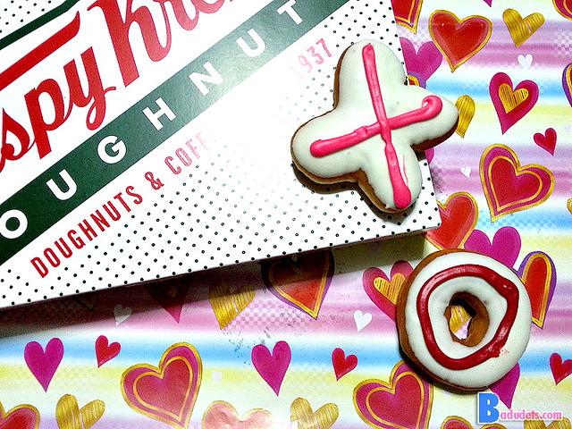krispy kreme valentines doughnuts