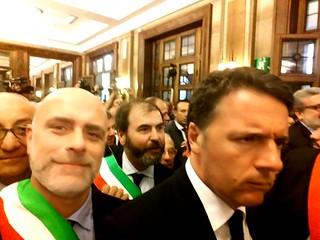Vito Cessa e il Premier Matteo Renzi