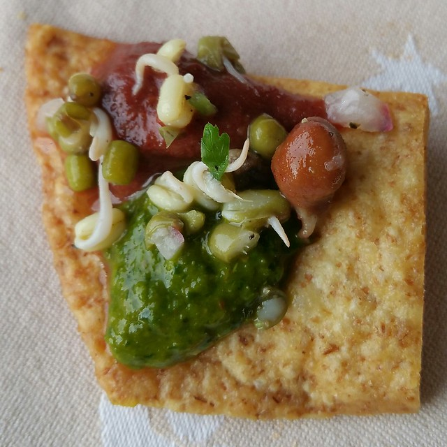 2016-May-22 Vij's - chaat appy bite