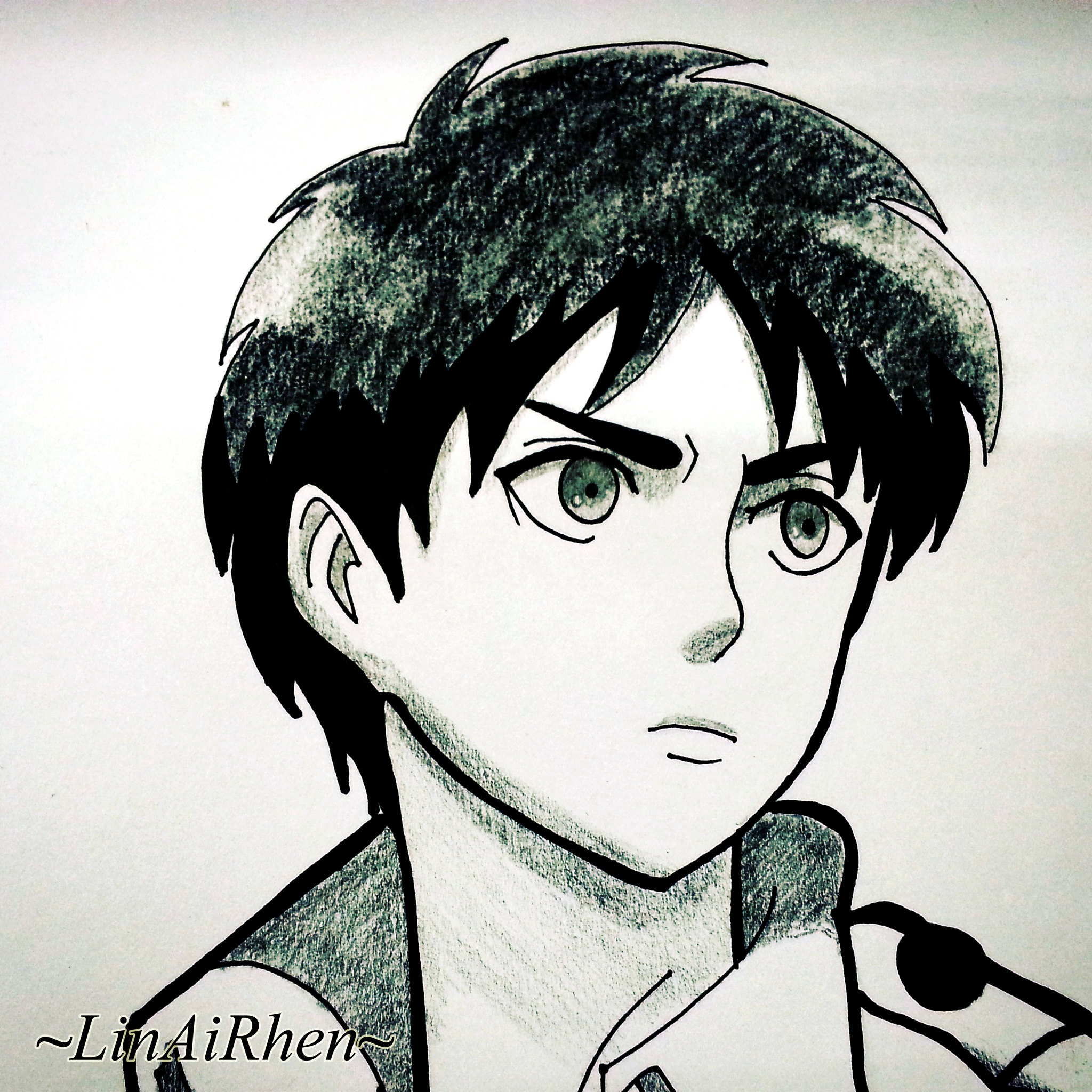 Drawing Attack On Titan Characters