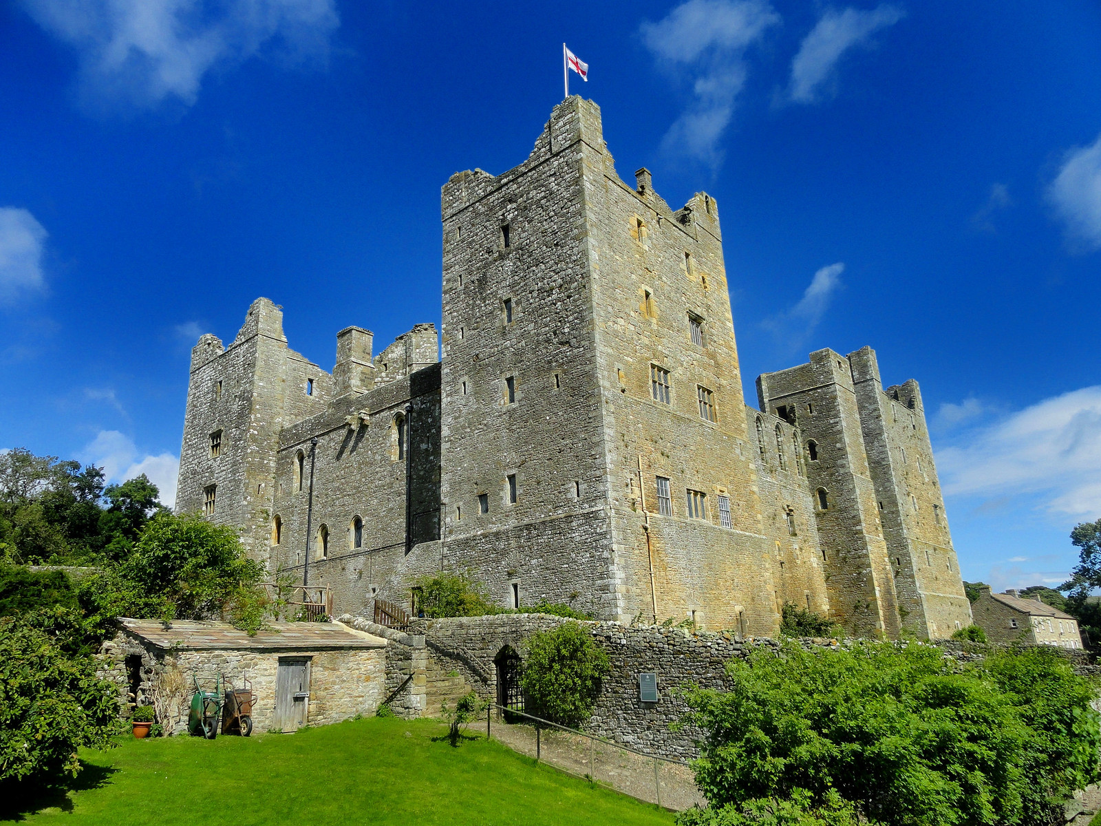 Bolton Castle, Wensleydale. Credit Peter Hughes