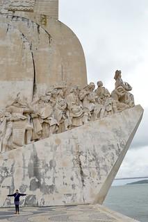 Afbeelding van Monument to the Discoveries in de buurt van Algés.
