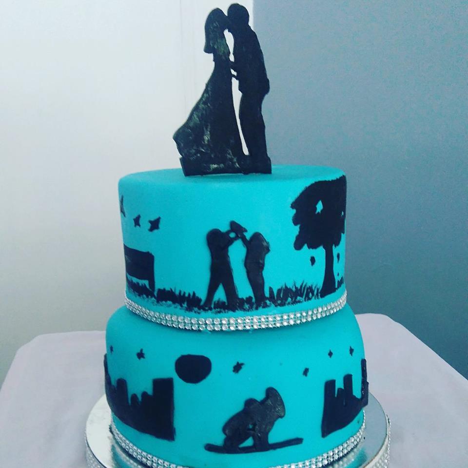 Silhouette Cake by Jhayne Pagulayan De Jesus