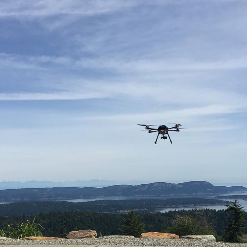 We decided to do a hover time test, naturally we had to have a beautiful view to appreciate while we waited and waited and waited for the battery alarm. #uav #drone #drones #uas #sky