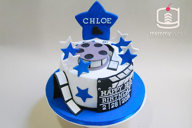 Movie Themed Cake by Gracelle Tello of Memmy Bakes
