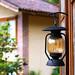 lantern outside the house