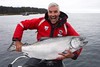 40+ pound Chinook salmon, caught and released at Langara Fishing Lodge, Haida Gwaii