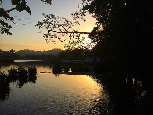 travel sunset landscape srilanka kandy waterscape traveltuesday
