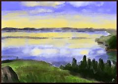Quick Landscape (Krita)