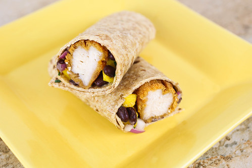 Mango and Black Bean Chicken Wraps-002.jpg