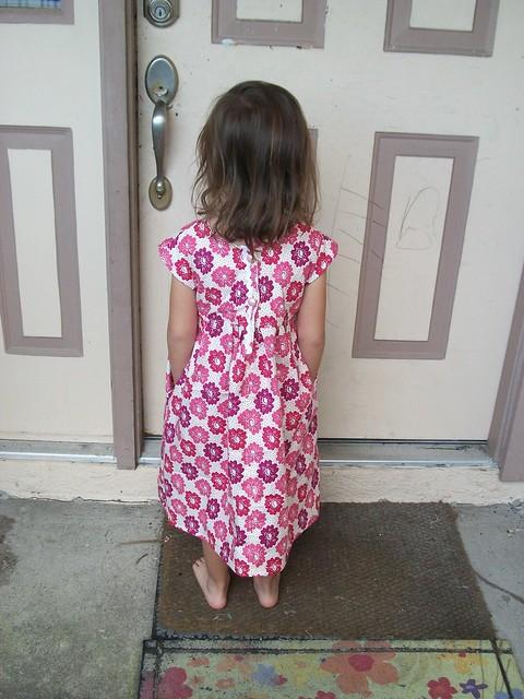 Geranium Dress - back