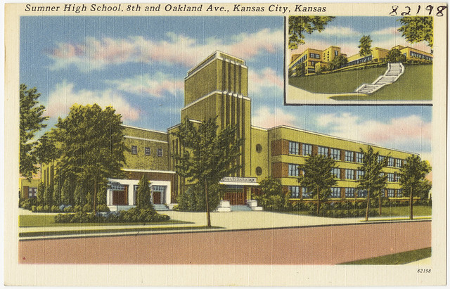 Sumner High School 8th And Oakland Ave Kansas City Kansas Flickr Photo Sharing