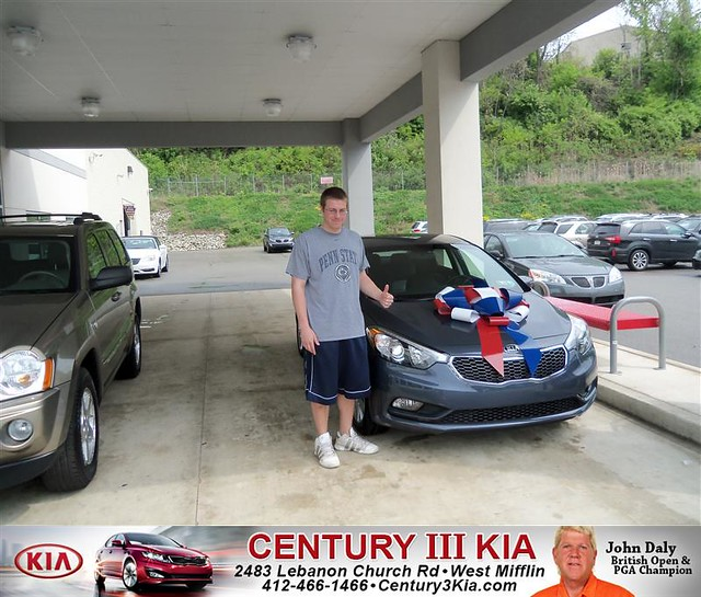 century 3 kia would like to say congratulations to david sedlock on the 2014 kia forte flickr. Black Bedroom Furniture Sets. Home Design Ideas
