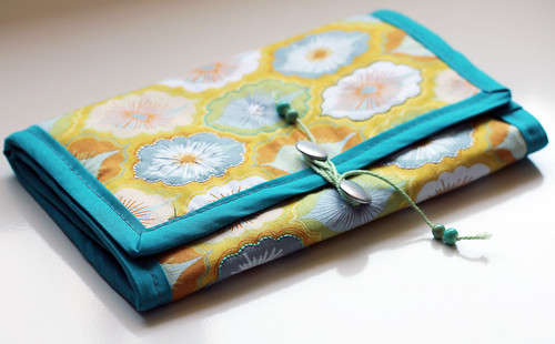 Fabric jewelry wrap