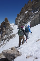 Traverse Back to the Chute