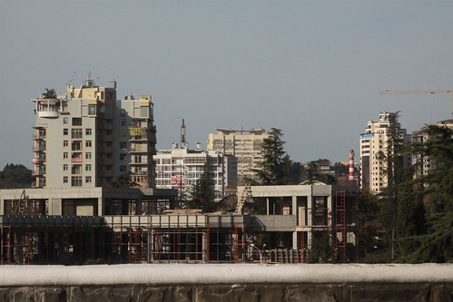 Apartment blocks in Sochi