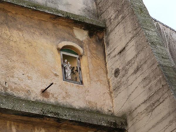 niche dans le mur