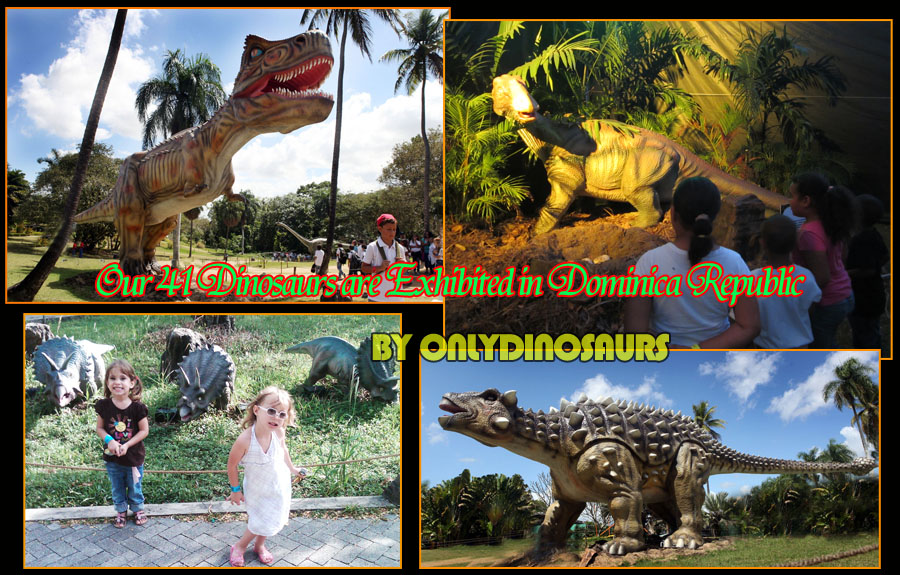 Interactive Dinosaur Exhibits in Dominica Republic
