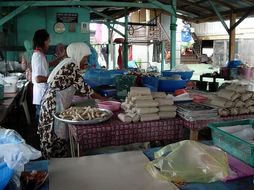 Keropok lekor stand, Terengganu