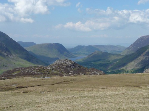 Looking back down to Ennerdale Water