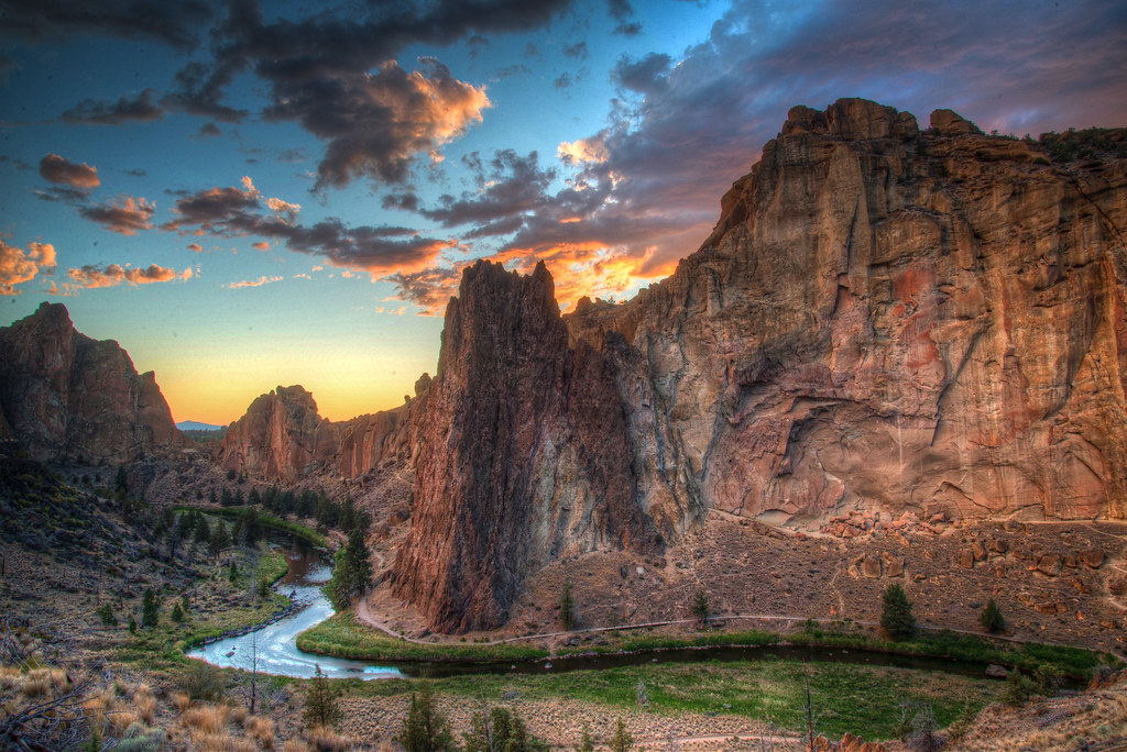 Sunset - Smith Rock Oregon - 2013