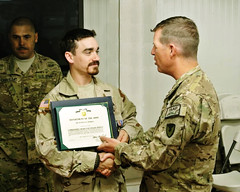 RDECOM engineer recognized for work in Afghanistan
