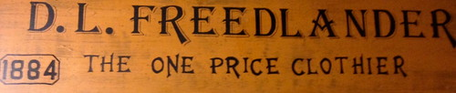 Freedlander Sign