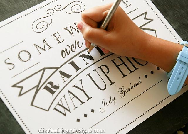 DIY Chalkboard Lettering 5