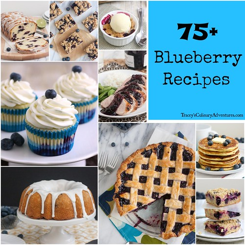 75+ Blueberry Recipes