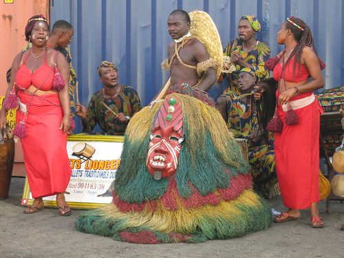 night pier dance ship mask westafrica togo greeting guardian lome guardianofthenight