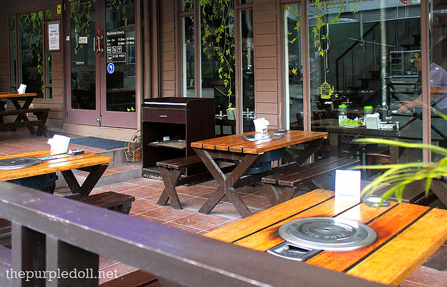 Masil Charcoal Grill Restaurant Al Fresco