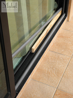 Temporary safety solutions: Sliding door