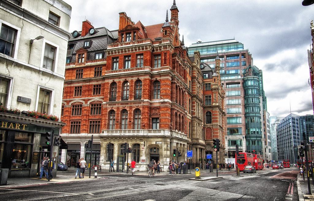 Bishopsgate/Liverpool Street. London July 2013