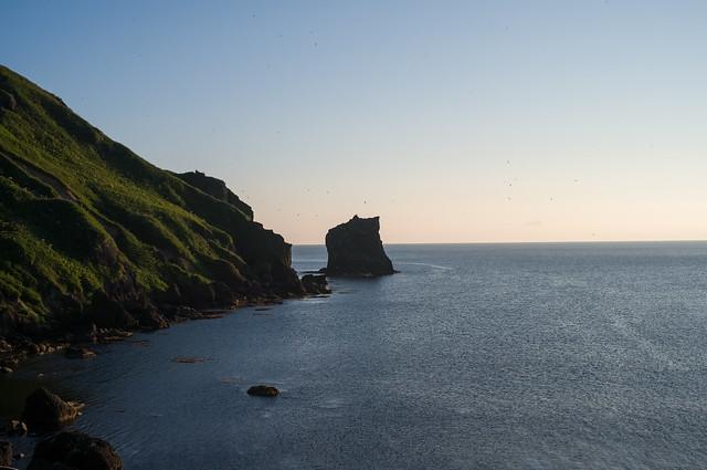 礼文島 猫岩
