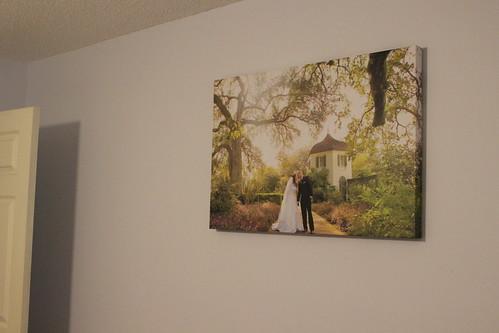 Our Wedding Canvas