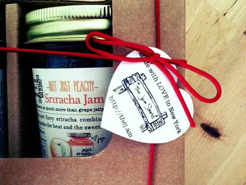 Sriracha Peach Jam