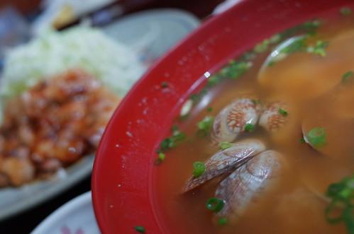 Asari miso soup RICOH GR F2.8