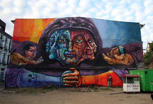 """""""el justiciero""""  Valparaíso 2013 by Cuellimangui"""