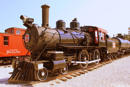Central of Georgia Steam Locomotive #349