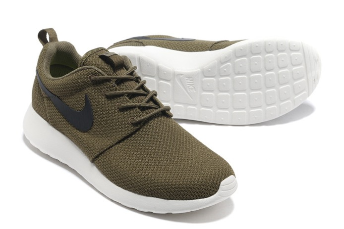 Nike_Roshe_Run_Mens_Shoes_Breathable_For_Summer_Army_Green