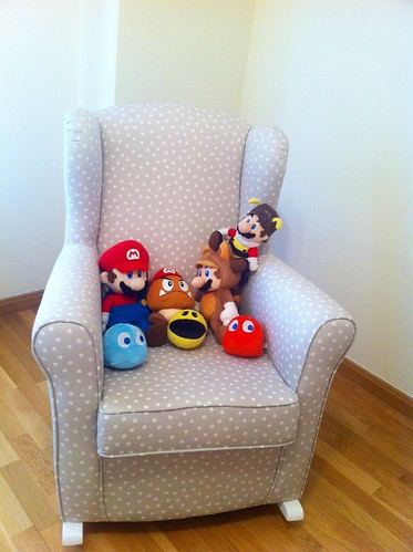 sillon peluches