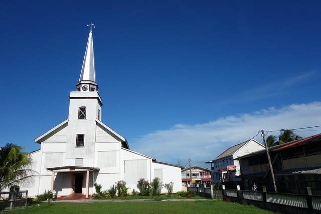 Igreja Anglicana em New Amsterdam Guiana