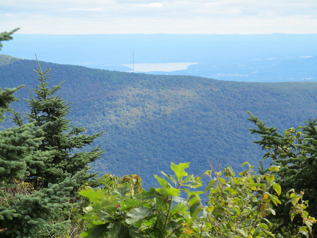 Overlook Mountain and communication tower