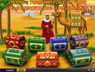 free Desert Treasure 2 Oasis Bonus