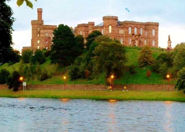 Inverness Castle, Scottish Highlands